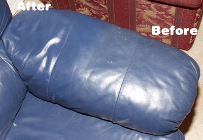 Leather Sofa Arm