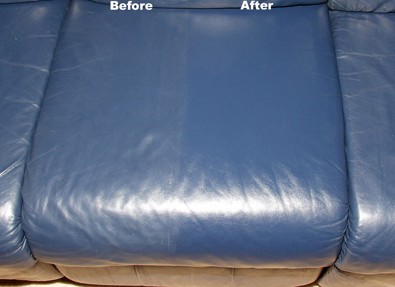 Leather Upholstery Cleaned in Huntsville